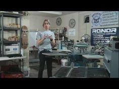 CatSpit Manual Screen Printing Shop Set Up Tour