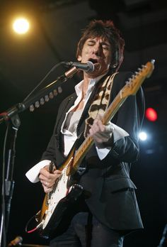 The Rolling Stones. Ronnie Wood