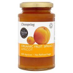 Clearspring Apricot Fruit Spread http://www.ocado.com