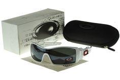 Oakley Oil Rig Sunglasse white Frame black Lens