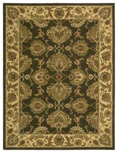 Traditional designs are the hallmarks of this collection of area rugs. Featuring classic traditional patterns, as well as striking contemporary motifs, there's