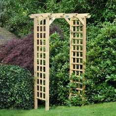 New Timber Wooden Trellis Garden Arch Archway Wood and DIY