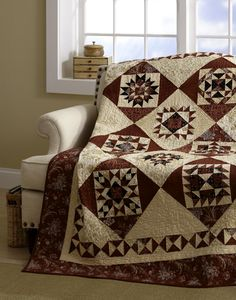 2012 Mystery BOM Quilt from American Patchwork & Quilting.
