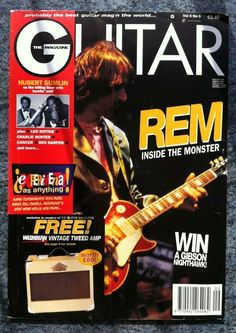 Guitar Magazine - September 1995 - Vol Condition : First generation magazine in very good re-saleable, collectible and enjoyable condition. Charlie Hunter, Bill Frisell, Guitar Magazine, Conditioner, September, Learning, My Love, Ebay, Things To Sell