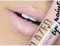 L.A. Girl Glazed Lip Paint 787 Whisper LA Girl USA Cosmetics