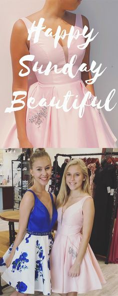 Princess A Line Short Pink Homecoming Dress with Pockets Best Prom Dresses, Dance Dresses, Homecoming Dresses, Flower Girl Dresses, Formal Dresses, Wedding Dresses, Graduation Dresses, Special Occasion Dresses, Beautiful Dresses