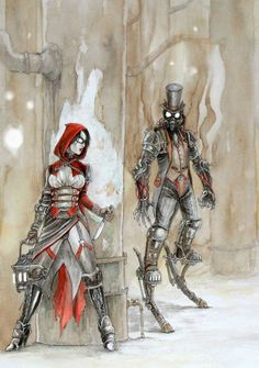 Steampunk Fairy Tale: Red