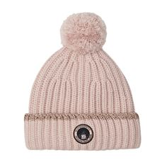 0fd51319814 Buy Superdry Ollie Bobble Hat Beanie Pledge Pink with great prices