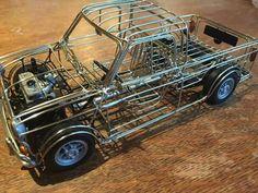 Mini cooper pick up chassis