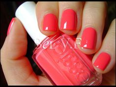 Just bought today! #Essie - cute as a button  Perfect for Spring and Summer
