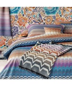 missoni home - margo throw - 156 | interior design & architecture