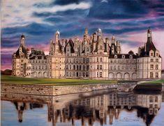 El castillo de Chambord en la religión del centro-valle de Loira, es uno de los castillos más reconocibles en el mundo debido a su arquitectura renacentista francesa muy distinta que mezcla formas tradicionales mediavales con estructuras clásicas italianas. Es el castillo más grande de los cartillos del Loira, pero fue construido para servir solo como un pabellón de caza para el rey Francisco I.