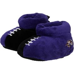 Baltimore Ravens Youth Puffy Ankle Slippers - $15.99