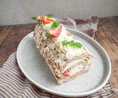 Opskrift på budapestrulle med jordbær Bread, Breads, Bakeries