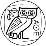 The Athenian Owl, used on ancient coinage, a symbol of the wisdom of Athena. Here it is in another version: