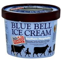 Blue Bell Ice Cream, Southern Hospitality Flavor, I ate to much Blue Bell while I was down South the pass year - so good:-)