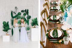 Un mariage de rêve en feuillage, comment laisser les fleurs de côté pour le grand jour Grand Jour, Wreaths, Wedding, Inspiration, Home Decor, Table, Diy Crafts, Flowers, Valentines Day Weddings