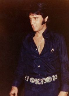 "takingcare-of-business: ""Elvis Presley c. 1969 """