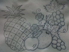 Embroidery Patterns, Applique, Stitch, Design, Kitchen Art, Dish Towels, Painting On Fabric, Craft, Ideas