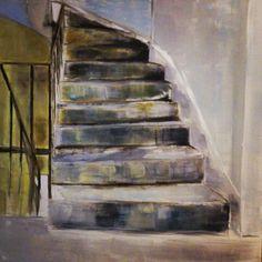 """Oil paint """"stairway"""""""
