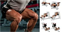 Build Bulging Bigger Legs Fast With This Workout Build Bulging Bigger Legs Fast With This WorkoutThis six-move legs session will hit your quads, hamstrings and glutes hard, as well as your Gym Workout Tips, Weight Training Workouts, Biceps Workout, Big Legs, Back And Biceps, Leg Press, Chest Workouts, Muscle Fitness, Legs