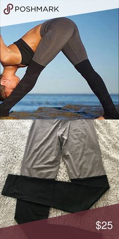 Yoga leggings NEW 95% polyester 5% spandex. This really fits so well. Look good in your pose. Namaste 🙏🏾 Pants Leggings