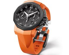Corum - Admiral's Cup Challenger 44 Chrono Rubber. A little more sporty/casual