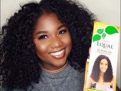 $10 Curly Summer Hair || Freetress Equal Jamaican Body Wave|| Curl fro|| Current Hair Journey - YouTube