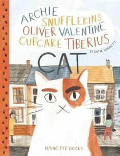 Archie, Cupcake, Valentine, Snufflekins, Tiberius the cat who lives on Blossom Street is called something different by everyone, and loved by them all! But there is one house on the street that he has
