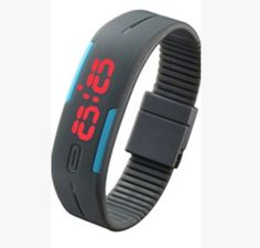 ce5480fa8f0 Candy Color Men s Women s Watch Rubber LED Kids Watches Date Bracelet  Digital Sports Wristwatch for Student