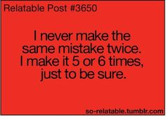 and i thought i was the only one!