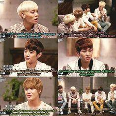 El de Key es el más inteligente. El de Tae el más tierno