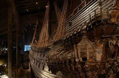 The Vasa Museum houses the world's only preserved 17th Century warship. The ship is so huge that the museum actually has 6 levels for you to view it.