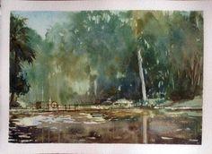 Jardim Botânico - São Paulo- SP - Brasil #watercolor #aquarela #art #painting #pintura
