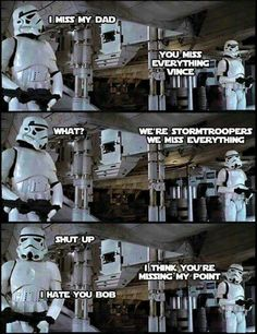 Memes are so funny. I start my day with all kinds of memes. I look through mostly sarcastic memes, dark humor memes and any hilarious memes I can find. Dank memes got me laughing all day. It's the highest form of humor. Simbolos Star Wars, Star Wars Jokes, Funny Star Wars, Rasengan Vs Chidori, Star Wars Pictures, Stupid Funny Memes, Funny Stuff, Sarcastic Memes, That's Hilarious
