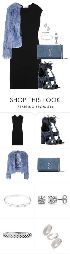 """""""Unbenannt #2052"""" by luckylynn-cdii ❤ liked on Polyvore featuring MICHAEL Michael Kors, Tom Ford, Glamorous, Yves Saint Laurent, Cartier, BERRICLE, David Yurman, Topshop, women's clothing and women"""