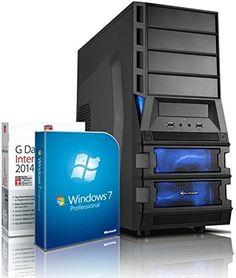 Gaming / Multimedia COMPUTER mit 3 Jahren Garantie!   Quad-Core! AMD A8-7600 4 x 3800 MHz   8192MB DDR3   1500GB S-ATA II HDD   AMD Radeon R7 720 - Mhz 4096 MB DVI/VGA mit DirectX11 Technology   USB3   FM2+ Mainboard   22x Dual Layer DVD-Brenner   All-In One Card-Reader   7 USB-Anschlüsse   Windows7 Professional 64   GDATA Internet Security 2015   #4818