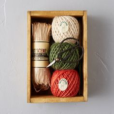 Floral Twine & Scissor Kit