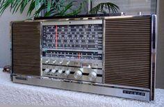 VINTAGE GRUNDIG STEREO CONCERT-BOY TRANSISTOR 4000 RADIO RECEIVER GERMANY 1960s #Grundig