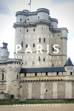 France is full of wonderful castles to visit. But if you want to see a castle in Paris, Chateau de Vincennes is an excellent choice. Find out how and why! Paris Travel, France Travel, Travel Europe, Best Family Vacations, Family Travel, Hotels In France, Castles To Visit, Nice France, Europe Destinations
