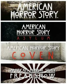 AHS - can't wait for season 4!! Freakshow is a fascinating and perfect concept for the show.