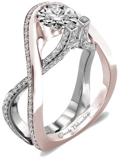 Claude Thibaudeau #engagement #ring #wedding