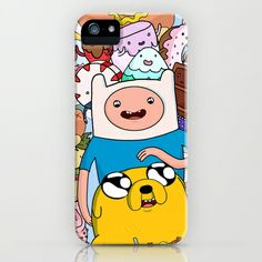 Adventure Time iPhone & iPod Case by Laura O'Connor - $35.00