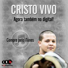 Cristo Vivo agora também no digital! Compre o CD Teu Reino pelo iTunes: https://itunes.apple.com/br/album/teu-reino/id742014282?utm_campaign=lancamentos-itb&utm_medium=post-09dez&utm_source=pinterest&utm_content=cristo-vivo-digital-itunes-link