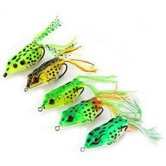5pcs Frog Fishing Lure #women, #men, #hats, #watches, #belts, #fashion