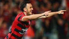 Mark Bridge has become the first player to win two Wanderers Medals as the forward celebrated a remarkable season by winning the Wanderers' top honour for 2015/16. Bridge first received the Hyundai A-League Player of the Season presented by NRMA Insurance in the Red & Black's inaugural year and on Tuesday, May 3rd 2016, doubled his medal tally following a season which saw him in the best form of his career: scoring nine goals and providing eight assists.