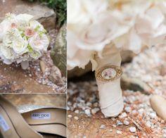 Wedding | Bride | Bouquet | Jimmy Choo | Pink © Matt Ramos Photography