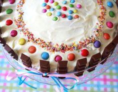 Kinderriegel Torte | Geburtstagskuchen | waseigenes.com