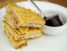 Greasy Fried Pork Sandwich / @DJ Foodie / DJFoodie.com