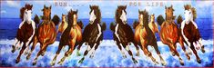 Galloping Horses (Reprint on Paper - Unframed) Horse Galloping, Horse Artwork, Animal Posters, Horse Photos, Animal Design, Sculptures, Horses, Paper, Pictures